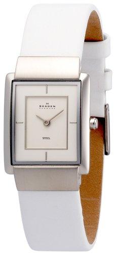 SKAGEN (スカーゲン) 腕時計 basic leather ladys J224SSLW ケース幅: H26mm×W22mm Ultra Slim レディース [正規輸入品]