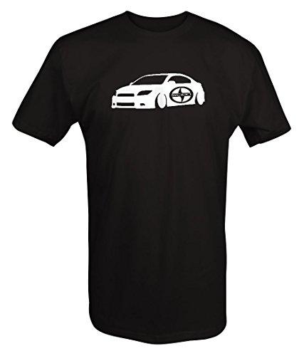 scion-tc-lowered-racing-lowered-custom-t-shirt-large