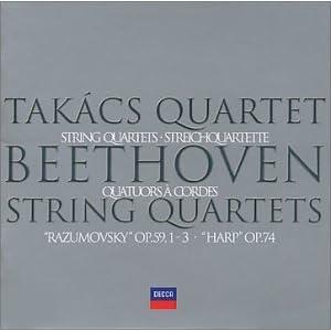 Beethoven -  String Quartet No.7 & No.8 - Budapest