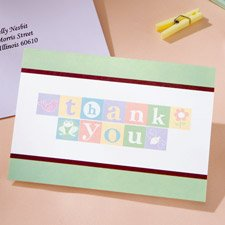 Wilton(R) 20 ct. Baby Bugs Thank You Cards