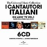 echange, troc Various Artists - I Cantautori Italiani: Gli Anni 70 V1