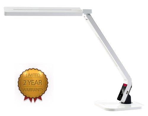 Softech - Natural Light Smart Led Desk Lamp With Tilting Head -White