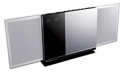 Panasonic コンパクトステレオシステム AirPlay/Bluetooth対応 シルバー SC-HC58-S
