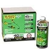 TruFuel 40Fuel Pre-Mixed 40:1 - 2 Cycle Fuel - 6 Quart Cans