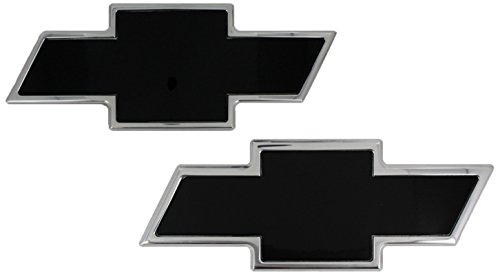 All Sales (96100KP) Combo Grille Emblem, Black, Front/Rear (2007 Chevy Silverado Front Emblem compare prices)