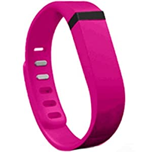 PedUSA Replacement Wrist Band for Fitbit Flex (Pink/Purple, Large)
