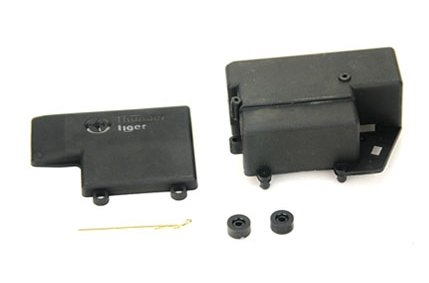 Thunder Tiger RC PD7883 EB44 RX Box/Battery Post - 1