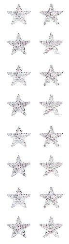 Jillson Roberts Prismatic Stickers, Mini Stars, 12-Sheet Count (S7012)