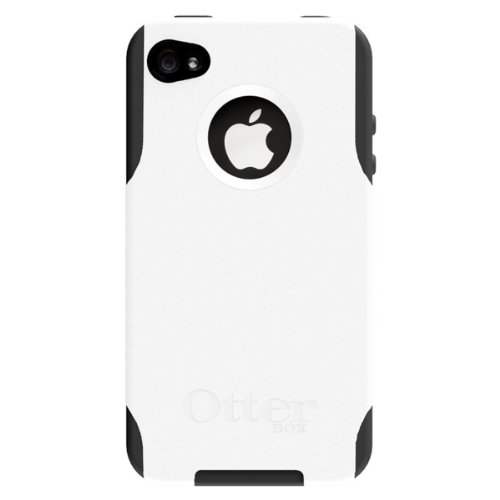 OtterBox Commuter Series Hybrid Case for AT&T and Verizon iPhone 4 (White/Black) (Doesn\'t support iPhone 4S)