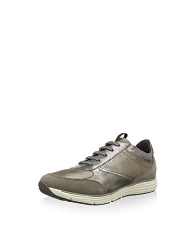 Geox Sneaker Donna Dynamic A  [Tortora/Argento]