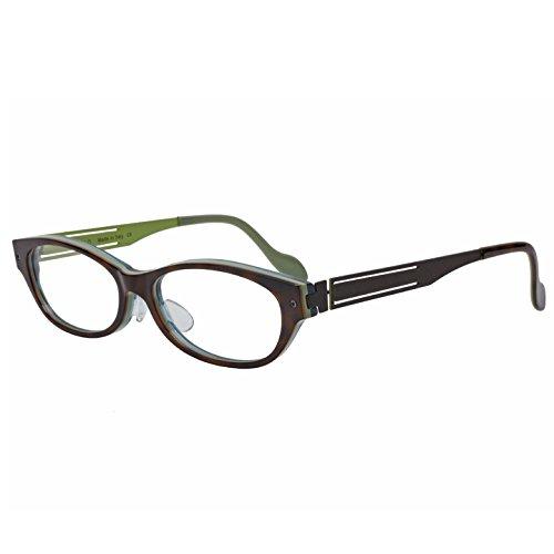 TONO トーノ CREMONA クレモナ 眼鏡(メガネ) 国内正規品 (べっ甲柄Xグリーン(裏))