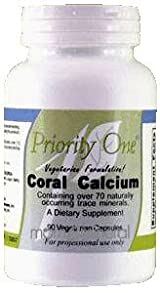 Coral Calcium 90 Capsules by Priority One Vitamins