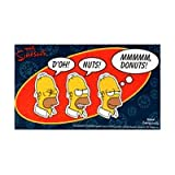 Simpsons Donuts Sticker