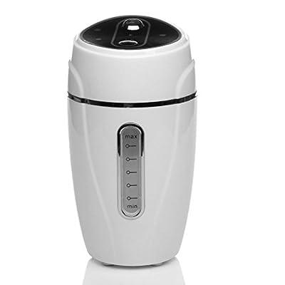 Auto USB Mini Home Humidifier Air Purifier Freshener Travel Car Portable White
