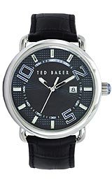 Ted Baker Straps Black Dial Men's Watch #TE1087