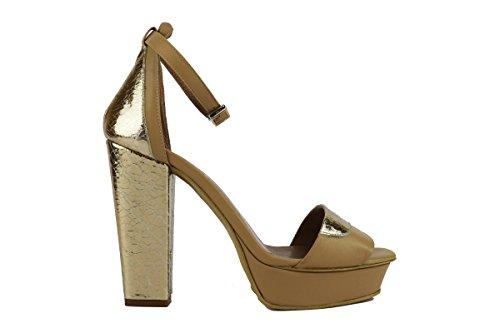 MY COCHO 40 EU sandali donna beige pelle AH537