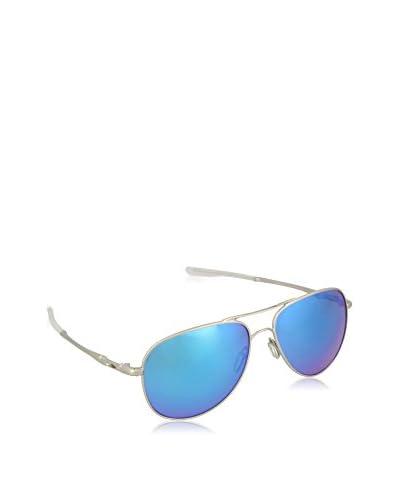 Oakley Sonnenbrille Polarized Elmont M & L (58 mm) silberfarben