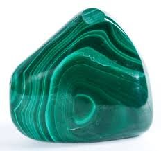 Malachite Tumbled Stone Gemstone Crystal Healing Rock Wiccan Supplies /Black velvet bag/ Info sheet