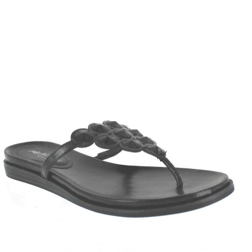 Kenneth Cole Reaction Women'S Net Keeper Black Sandal 9 M front-860293