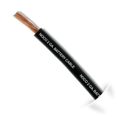 NOCO W225BK Black 25' 2 AWG SGT Battery Cable