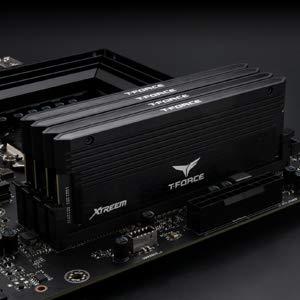 TEAMGROUP T-Force Xtreem DDR4 16GB Kit SDRAM (2x8GB) 4500MHz (PC4-36000) CL18 Desktop Memory Module ram - Black - TXKD416G4500HC18EDC01 (Color: Xtreem Dual-channel (Black), Tamaño: 16GB (8GBx2) - 4500MHz C18)