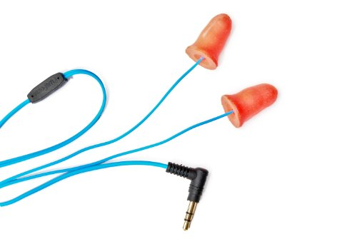 Orange Audio/Music Playing Ear Plugs Resembles Silicone And Foam Hearing Protection, Earbuds/Headphones/Earphones Used For Ipod, Mp3, Iphone