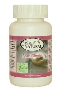 Pearl Powder 500Mg 60C - Repair Skin Elasticity Health Solution