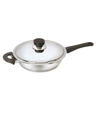 Platinum Saute Pan+ Lid 28cm