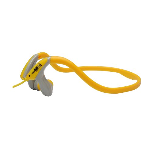 Urbanz Sportz Running Sports Gym Neckband Headphones (Yellow)