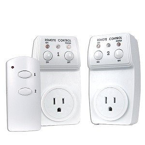 Remote Controlled Switch Socket - 2 Pack