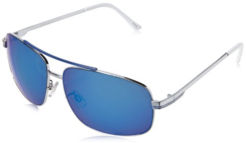 union-bay-womens-u884-aviator-sunglassessilver-blue63-mm