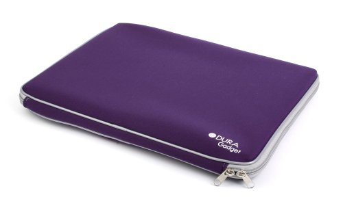 DURAGADGET Purple Ultra aegis Water resistant laptop / notebook / netbook / UMPC act up case / bag / sleeve for HP Probook 6440B,Sony Vaio EA1S1E 14 and Samsung X420 14.1
