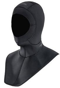 Xcel Thermoflex Hood with Bib 6/5/4mm (Black, Small)