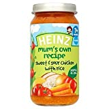 Heinz Mum's Own Recipe Sweet & Sour Chicken with Rice 7+ Mths 200G