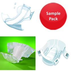 All in One Sample Pack Large Heavy to Severe incontinence