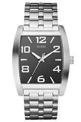 Guess Men's Analogue Watch W90068G1 with Black Dial