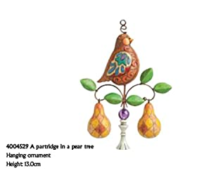 Partridge In A Pear Tree Ornament A PARTRIDGE IN A PEAR TREE