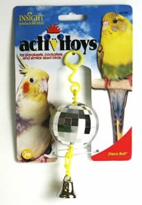 Cheap Brand New, JW Pet Company Insight Activitoy Disco Ball Bird Toy (Sale JW Pet Company – Small Toys) (MSS080-31059-RR|1)