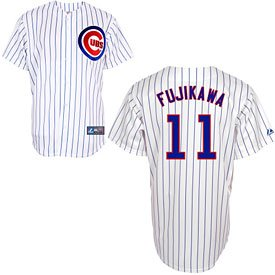 Jersey Kyuji Fujikawa Home Replica at Amazon.com