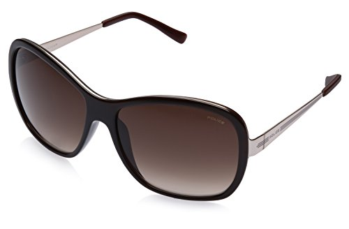 Police Police Oval Sunglasses (Brown) (S8534|A39|61)