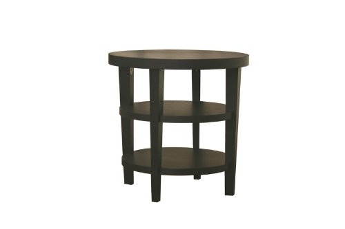 Cheap Charleston Modern Black Wood End Table (CT-112-black)