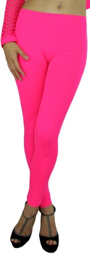 Women's Footless Elastic Leggings - many colors
