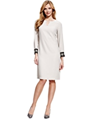 M&S Collection Bead Embellished Cuff Tunic Dress