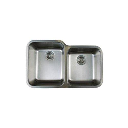 Blanco Bl441023 Stellar 1-3/4-Inch Bowl Undermount Sink, Refined Brushed front-994173
