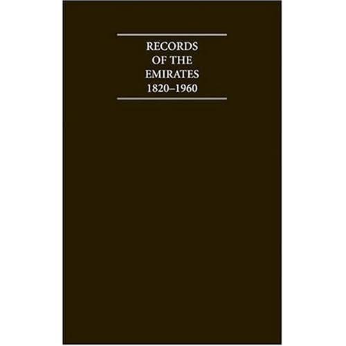 Records-of-the-Emirates-1820-1960-12-Volume-Hardback-Set-Including-Boxed-Genealo