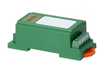 CR Magnetics CR5311-50 DC Voltage Transducer with Single Element, DC, >=2K  Output Load, 24 VDC +/-10%, 0-50 VDC Input Range, +/-10 VDC Output Range