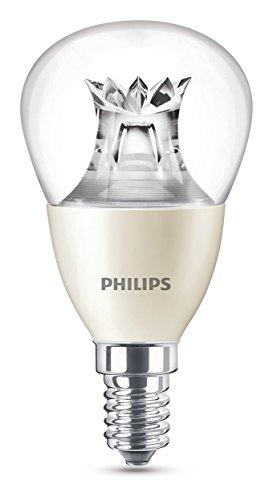 Philips Lampadina LED Warmglow E14, 6 W Equivalenti a 40 W, Dimmerabile