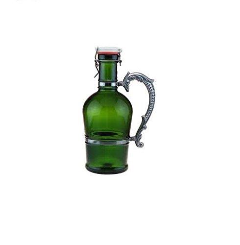2-Liter Nostalgic Green Beer Growler