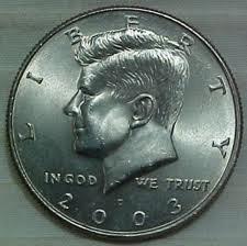 2003-D Uncirculated Kennedy Half Dollar