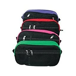 Winnable Pencil Pouch, Double Zipper,8.5x3.5, Assorted Colors Sold Individualy, Design May Vary
